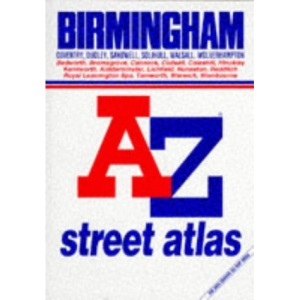 A. to Z. Atlas of Birmingham and West Midlands (A-Z Street Maps & Atlases)