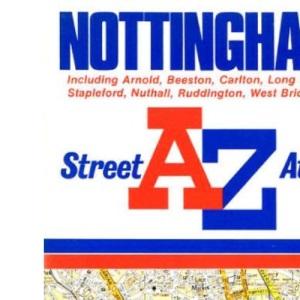 A. to Z. Street Atlas of Nottingham: 1m-4 (A-Z Street Atlas)