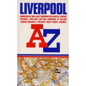 A. to Z. Street Atlas of Liverpool (A-Z Street Atlas)