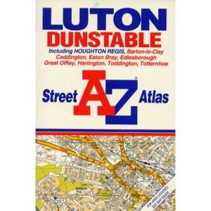 A. to Z. Luton/Dunstable Street Atlas (A-Z Street Atlas)