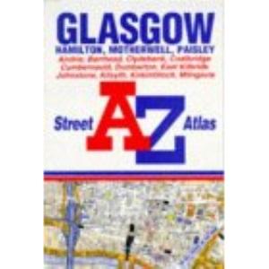 A. to Z. Glasgow Street Atlas (A-Z Street Atlas)