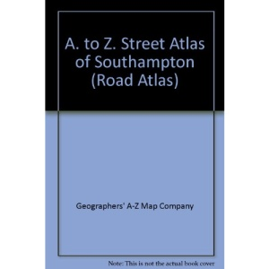 A. to Z. Street Atlas of Southampton (Road Atlas)