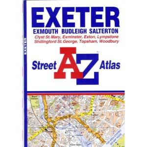 A-Z Exeter Street Atlas