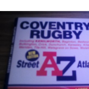 A-Z Coventry and Rugby Street Atlas (A-Z Street Maps & Atlases S.)