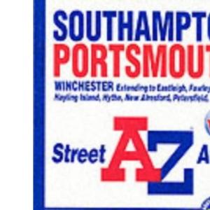 Southampton and Portsmouth Atlas (A-Z Street Maps & Atlases)