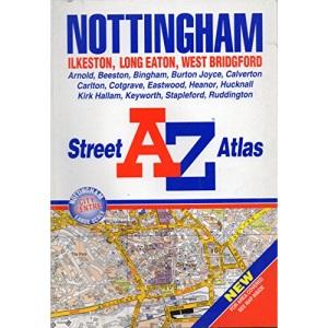 A-Z Nottingham Street Atlas
