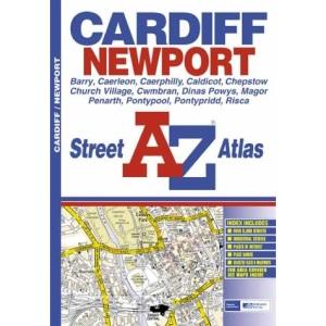 A-Z Cardiff and Newport Street Atlas (A-Z Street Maps & Atlases)