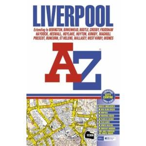 A-Z Liverpool Street Atlas (A-Z Street Maps & Atlases)