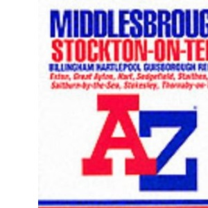 A-Z Middlesbrough and Stockton-on-Tees Street Atlas