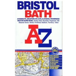 A-Z Bristol and Bath Street Atlas