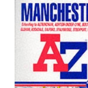 A-Z Manchester Atlas (Street Atlas)