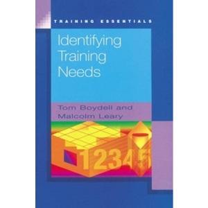 Identifying Training Needs (Training Essentials)
