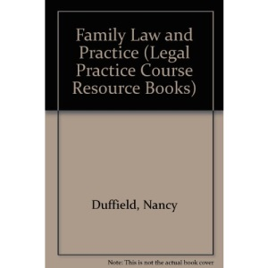 Family Law and Practice (Legal Practice Course Resource Books)
