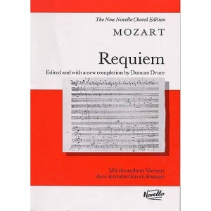 Mozart Requiem Vocal Score (New Novello Choral Edition)