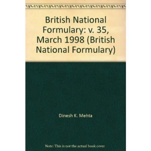 British National Formulary: v. 35, March 1998