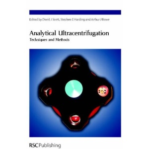 Analytical Ultracentrifugation: Techniques and Methods