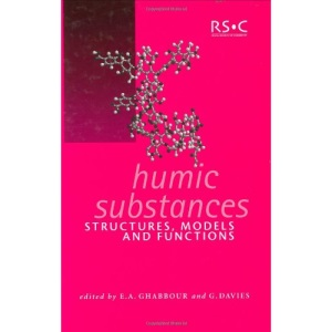 Humic Substances: Structures, Models and Functions (Special Publications)