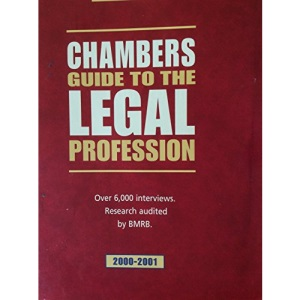 Chambers Guide to the Legal Profession, 2000-2001: 2000-2001