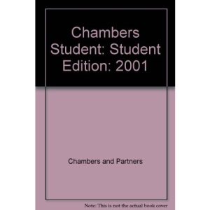 Chambers Student: Student Edition: 2001