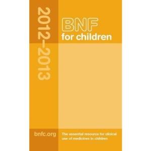 BNF for Children 2012-2013 (BNFC)