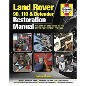 Land Rover 90. 110 & Defender Restoration Manual: Step-by-step guidance for owners and restorers (Haynes Restoration Manuals)