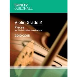 Violin Exam Pieces Grade 2 2010-2015 (score + Part) (Trinity Guildhall Violin Examination Pieces 2010-2015)