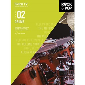 Trinity College London Rock & Pop 2018 Drums Grade 2 (Trinity Rock & Pop)