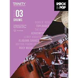Trinity College London Rock & Pop 2018 Drums Grade 3 (Trinity Rock & Pop)