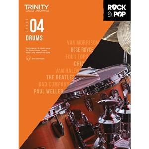 Trinity College London Rock & Pop 2018 Drums Grade 4 (Trinity Rock & Pop)