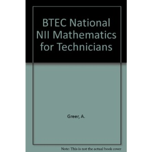 BTEC National NII Mathematics for Technicians