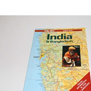 India and Bangladesh: Travel Atlas (Lonely Planet Travel Atlas)