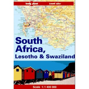 South Africa, Lesotho and Swaziland (Lonely Planet Travel Atlas)