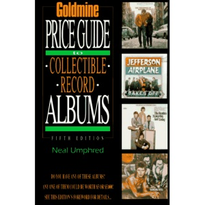 Goldmine's Price Guide to Collectible Record Albums (Goldmine Price Guide to Collectible Record Albums)