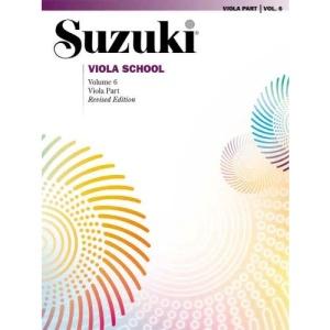 Suzuki Viola School: Viola Part v. 6 (Suzuki Method International)