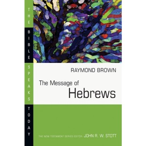The Message of Hebrews : Christ above All (Bible Speaks Today)
