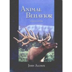 Animal Behaviour: An Evolutionary Approach