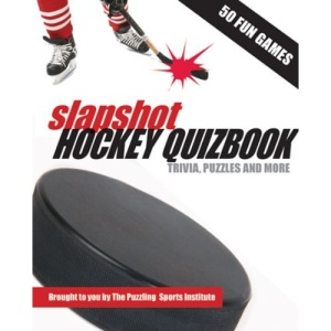 Slapshot Hockey Quizbook: Trivia, Puzzles and More