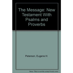 The Message: New Testament with Psalms and Proverbs - Youth Edition