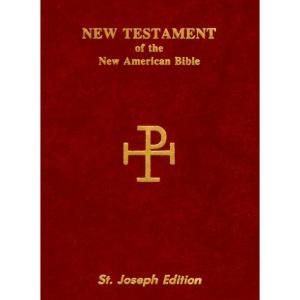 St. Joseph Vest Pocket New Testament-Nab