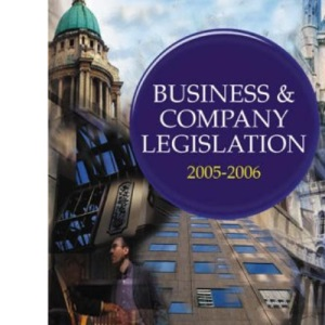 Business and Company Legislation (College of Law LPC Guides)
