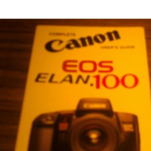 Canon EOS 100: International Users Guide (Hove User's Guide)