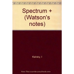 Spectrum + (Watson's notes)