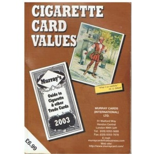 Cigarette Card Values. Guide to Cigarette and Other Trade Cards (Murray Cards International)