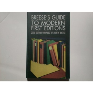 Breese's Guide to Modern First Editions 2000