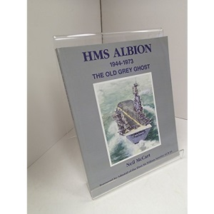 HMS Albion, 1944-1973: The Old Grey Ghost
