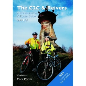 C2C & Reivers 2004: Accommodation and Route Guide 2004 (B&B Cycling Guide)