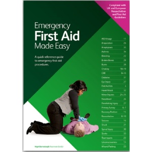 Emergency First Aid Made Easy: A Quick Reference Guide to Emergency First Aid Procedures