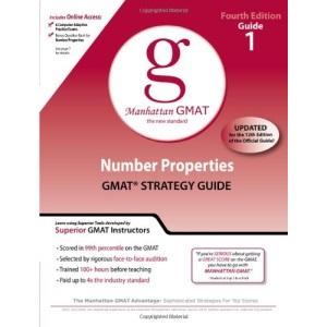 Number Properties GMAT Preparation Guide (Manhattan GMAT Preparation Guide: Number Properties)
