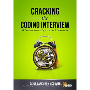 Cracking the Coding Interview, 6th Edition: 189 Programming Questions and Solutions (Cracking the Interview & Career)