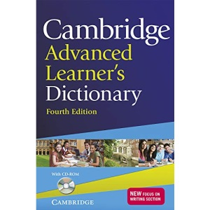 Cambridge Advanced Learner's Dictionary with CD-ROM: Fourth Edition